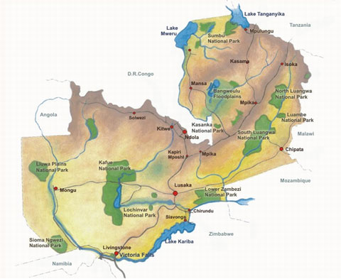 Zambian embassy the country the countrys geographical location and high altitude are ideal for the countrys sub tropical vegetation and climate conditions gumiabroncs Images